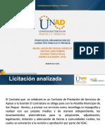 Contratación publica y privada  - Fase cuatro - Trabajo final