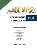 PERKEMBANGAN METODE ILMIAH