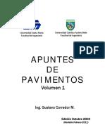 Volumen 1 Gustavo Corredor(Enero de 2011)
