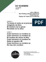 What a Beautiful Name - Spanish.pdf