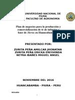 Plan de Negocios de Estevia Huancabamba