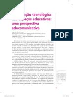 A Mediação Tecnológica Nos Espaços Educativos - Uma Perspectiva Educomunicativa