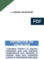 2_ Conducta Vocacional