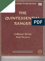 The Quintessential Ranger