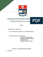 Diseño de Vías Informe