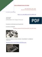 Bucle Para Una Bibliografía de Jaime Gil de Biedma