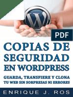 Copias de Seguridad en Wordpress Comienzo