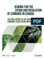 A Framework for the Legalization and Regulation of Cannabis in Canada