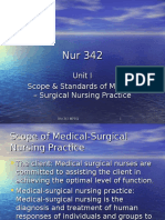 Unit I Scope and Standards of Med-Surg Nursing Practice.ppt