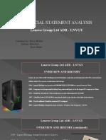 financial statement analysis lenovo final  1