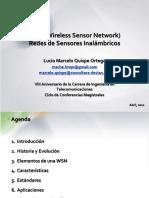 WSN (Wireless Sensor Network) Redes de Sensores Inalámbricos