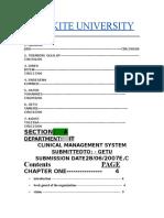 Clinic Management System(wku)by nejash