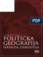 Politicka geografija Hamida Dabashija - Samedin Kadić