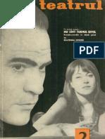 Revista Teatrul, nr. 2, anul X, februarie 1965