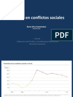 Muertos y Heridos en Conflictos Sociales