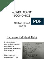 Power Plant Econimics 2