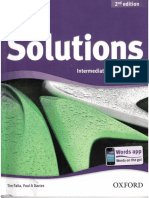 Solutions Intermediate Student Boook