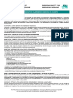 policy statement on em in europe - draft revision - may 2013