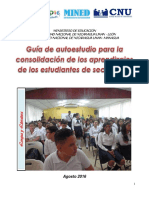 Guia Autoestudio Consolidacion Secundaria 2016- Ingreso 2017