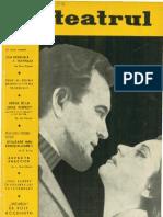 Revista Teatrul, nr. 3, anul X, martie 1965