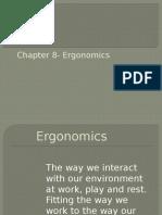 Chapter 8 Ergonomics