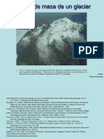 Balance de Masa de Un Glaciar Parte 1 JCL