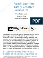 highreach learning and creative curriculum logico mat