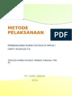 Metode Pembangunan Rumah Khusus Di Papua XVI - PT Asri Abadi