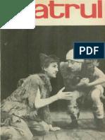Revista Teatrul, nr. 5, anul X, mai 1965