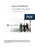 Employee Handbook 2016 Crescendo