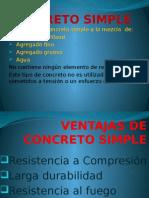 Diapositivas de Concreto Simple