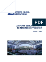 Airport Bench Marking to Maximize Efficiency_final