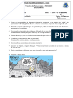 Trabalho de Rec. 2º Semestre - REDAÇÃO - ANTONIO - 2º Super Med