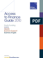 North East Access to Finance Guide 2010