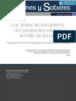 Teología de Epicuro Por Carlos Santamaría