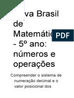 Prova Brasil de Matemática2