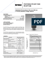 PMT Specifications