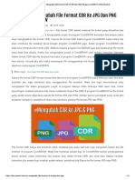 Cara Mudah Mengubah File Format CDR Ke JPG Dan PNG Dengan CorelDRAW _ Info Menarik