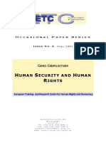 Human Security and Human Rights