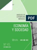 Economia y Sociedad - n 45 - Octubre 2016 - Paraguay - Portalguarani
