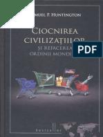 Samuel Huntington - Ciocnirea Civilizatiilor