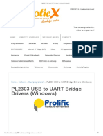 Como Configurar PL2303 USB to UART Bridge Drivers