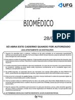 Biomédico 2016 PROVA