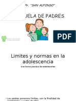 ESCUELA DE PADRES 1° - 2°