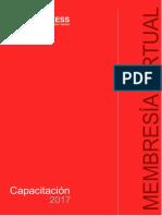 Brochure Membresía Virtual 2017