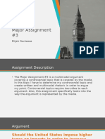 Major Assignment #3