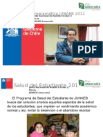 Oferta Junaeb 2012 Salud Del Estudiante Presentacion