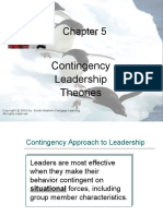 Chapter5 Contingency Leardership Theory