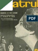 Revista Teatrul, nr. 9, anul X, septembrie 1965