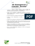 Plan Emergencia Evacuacion Liceo Consultoria 2012 Jans Escandon